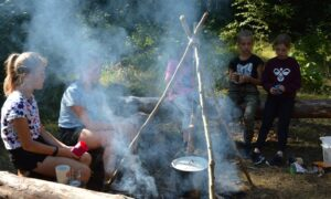 vasaros stovykla