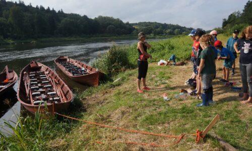 vikingų valtys